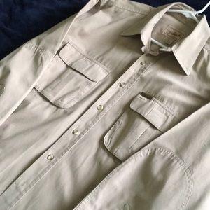 Woolrich Men's Long Sleeved Shirt